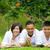 アジア · 家族 · 中国語 · リラックス · 屋外 · 公園 - ストックフォト © yongtick
