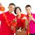 азиатских · семьи · праздновать · Китайский · Новый · год · женщину · детей - Сток-фото © yongtick