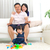 азиатских · семьи · играет · игрушками · человека · счастливым - Сток-фото © yongtick
