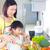 料理 · アジア · 母親 · キッチン · 男 - ストックフォト © yongtick