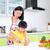 料理 · アジア · 母親 · キッチン · 家 - ストックフォト © yongtick