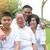asian · Familienbild · chinesisch · Familie · entspannenden · Park - stock foto © yongtick
