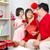 旧正月 · アジア · 家族 · を祝う · 女性 · 少女 - ストックフォト © yongtick