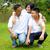 ázsiai · család · fiatal · kínai · megnyugtató · park - stock fotó © yongtick