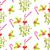 visco · teste · padrão · do · natal · tradicional · planta · vermelho - foto stock © yopixart