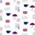 british symbols vector seamless pattern stock photo © yopixart