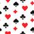 playing card suits seamless pattern stock photo © yopixart