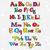 Christmas cartoon alphabet stock photo © yulia_mayevska