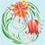 tavasz · klasszikus · virág · kör · kártya · szín - stock fotó © yulia_mayevska