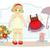 karikatür · bebek · oyuncakları · toplama · bebek · dizayn · arka · plan - stok fotoğraf © yulia_mayevska
