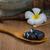 fürdő · gyertya · kövek · gyertyák · kiegyensúlyozott · zen - stock fotó © yuliang11