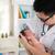 asian · mannelijke · arts · pasgeboren · baby · kliniek · vrouw - stockfoto © yuliang11
