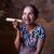 öregasszony · dohányzás · szivar · fotó · nő · hatvanas · évek - stock fotó © yuliang11