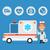médico · ambulância · carro · formato · eps · 10 - foto stock © yuriytsirkunov