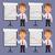 üzletember · pontok · diagram · grafikonok · formátum · eps - stock fotó © yuriytsirkunov