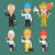異なる · 職業 · 古い · ビジネスマン · ビジネス女性 - ストックフォト © yuriytsirkunov