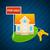 ingesteld · huizen · huis · iconen · geïsoleerd · grijs - stockfoto © yuriytsirkunov