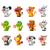 chinese horoscope animal toys with sugar candy stock photo © yuriytsirkunov