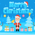 christmas concept santa claus and two snowmen in snowy forest stock photo © yuriytsirkunov