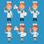 看護 · 点数 · メモ帳 · 実例 · フォーマット · eps - ストックフォト © yuriytsirkunov