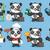 panda · illustratie · groot · cute - stockfoto © yuriytsirkunov