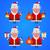 羊 · サンタクロース · 休日 · 実例 · フォーマット · eps - ストックフォト © yuriytsirkunov