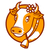 Good cow smiling emblem stock photo © yuriytsirkunov