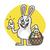 Easter · Bunny · konijn · paaseieren · mand · Pasen · vol - stockfoto © yuriytsirkunov