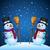 vector · ingesteld · verschillend · winter · team · geschenk - stockfoto © yuriytsirkunov