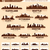 skyline city set 10 cities of usa 2 stock photo © yurkaimmortal