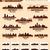 sziluett · város · szett · 10 · városok · USA - stock fotó © yurkaimmortal
