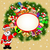 background with santa claus and gifts stock photo © yurkina