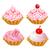 establecer · rosa · torta · ilustración · diseno · chocolate - foto stock © yurkina