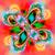colorido · fractal · floral · padrão · digital - foto stock © yurkina