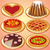 set cake and pie with strawberries cherry stock photo © yurkina