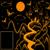 magia · castillo · silueta · luna · llena · misterioso · noche - foto stock © yurkina