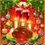 рюмку · свечу · Рождества · иллюстрация · декоративный · мяча - Сток-фото © yurkina