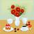 кофе · цветок · иллюстрация · символ · перерыва · время - Сток-фото © yurkina