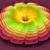 digitalmente · generato · fiore · fiore · bianco · blu - foto d'archivio © yurkina