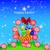 cartolina · easter · eggs · basket · prato · illustrazione · fiore - foto d'archivio © yurkina