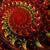 фрактальный · иллюстрация · ярко · красный · спиральных · компьютер - Сток-фото © yurkina