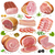 illustration of a set of different kinds of meat stock photo © yurkina