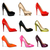 set of womens shoes with heels stock photo © yurkina