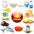 planta · animal · produtos · ilustração · peixe - foto stock © yurkina