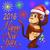 aranyos · tánc · majom · terv · vicces · grafikus - stock fotó © yurkina
