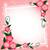 flores · papel · encaje · ilustración · flor · marco - foto stock © yurkina