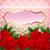 kart · pembe · güller · dantel · örnek · kâğıt - stok fotoğraf © yurkina