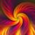oranje · spiraal · licht · abstract · zwarte · ontwerp - stockfoto © yurkina