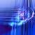 abstract · technologie · cirkels · ontwerp · Blauw · retro - stockfoto © yurkina