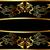 citromsárga · fekete · szalag · kép · renderelt · mű - stock fotó © yurkina